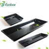 Ecobox XS-005 plastic bulk meat display fresh trays for supermarket