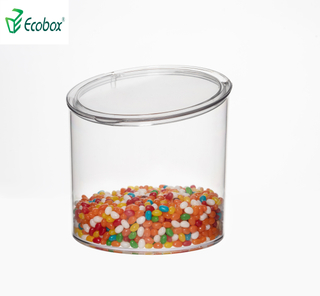 Ecobox SPH-057 airtight bulk nuts bin jar